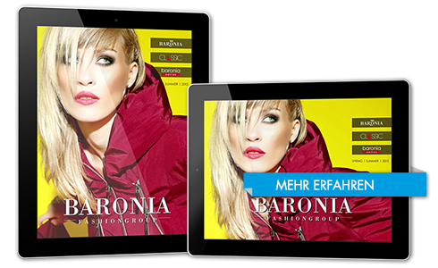 TiMe Agentur Production Referenzen Tablet iPad Baronia